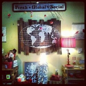 Sola Coffee Cafe Decor Fresh Global Social