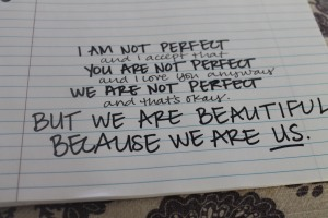 We Are Beautiful Because We Are Us