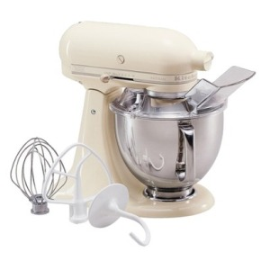 Almond Cream Kitchenaid Mixer