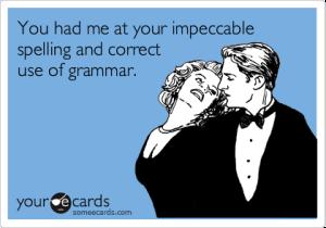 Grammar is hot