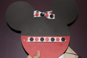 Mickey Mouse Themed Party Invitations