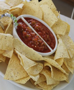 Chips and Salsa Platter