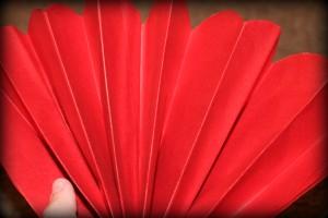 tissue pom pom tutorial