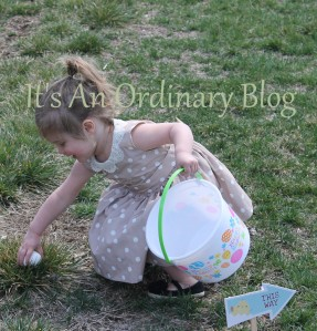 Easter Egg Hunt It's An Ordinary Blog