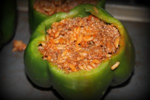 Oven Baked Stuffed Peppers