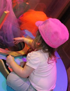 Toddler at Science City