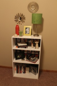 Bookshelf for Guest Room