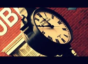 Public Library Clock