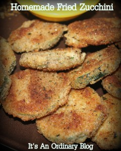 Homemade Fried Zucchini