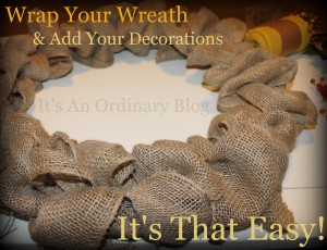 Design Your Own Wreath