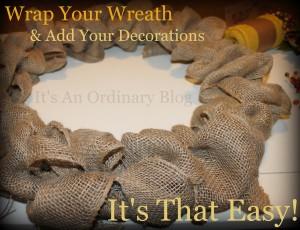 Design Your Own Wreath