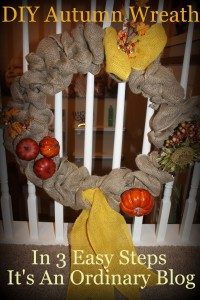 Make Your Own Fall Wreath