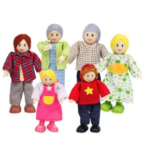 Modern Doll Family ebeanstalk