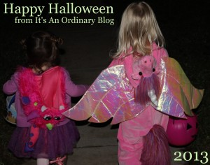 toddlers trick or treating
