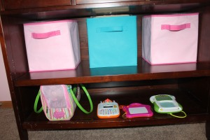 Organizing your toddler's room