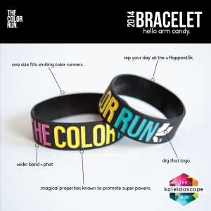 The Color Run Magical Bracelet