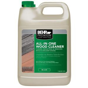 Behr All In One Wood Cleaner